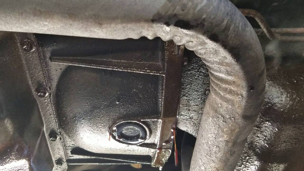 1994 ford f150 manual transmission leak