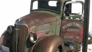 old 1937 chevy truck cold start