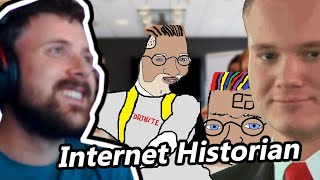 Forsen Reacts To Very Serious Business by Internet Historian