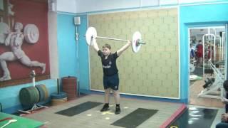 Бикмулин Илья, 11 лет св 70 Рывок 28 кг