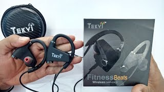Tekvi Wireless Bluetooth Sport Headphones Unboxing and Review