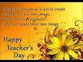 Wish You Happy Teachers Day Free Video Download