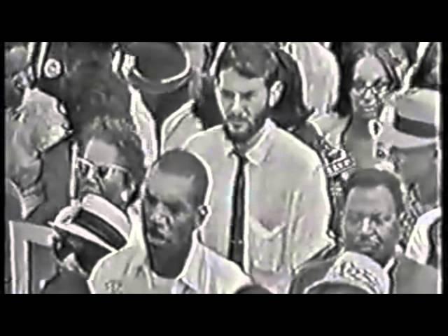 "Bob Dylan performs ""Only A Pawn In Their Game"" at March on Washington, Aug. 28, 1963"