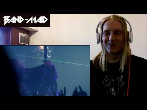 BAND-MAID / Real Existence (Live) Reaction