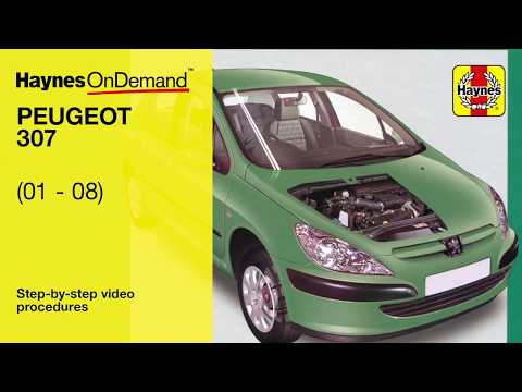 Repair manual peugeot 307 cnn news dailymotion fix your peugeot 307 01 08 with hayness video tutorials fandeluxe Choice Image