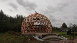 как сделать купольный дом