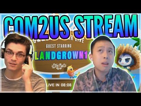 Chilling w/ Com2uS!!! - Com2uS Stream ft. Evan & Islandgrown11 - Summoners War