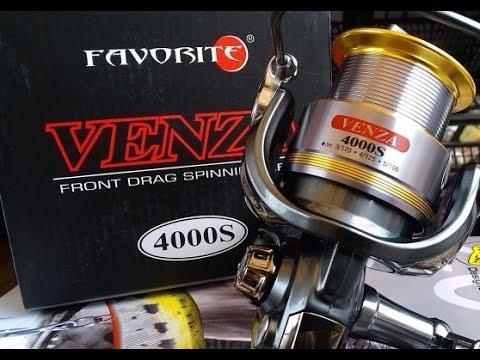 ОБНОВА, катушка для джига катушка Favorite Venza 4000S - YouTube