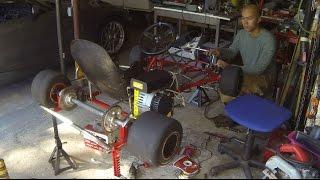 The Electric Go Kart is Alive! - Go Kart Build Part 8