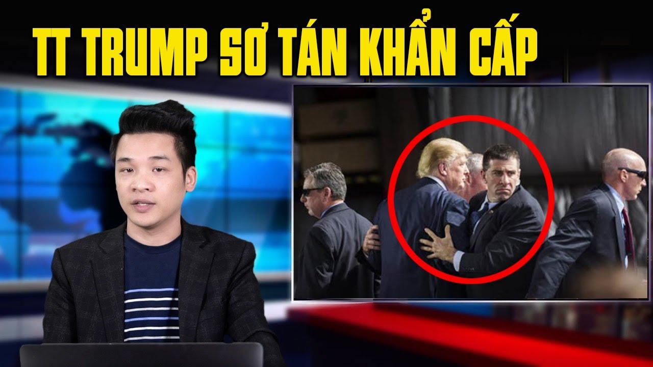 TT Donald Trump được mật vụ đưa đi lánh nạn và lý do đằng sau….