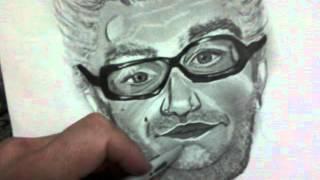 desenho a lapis e grafite ,,leandro rezener,,