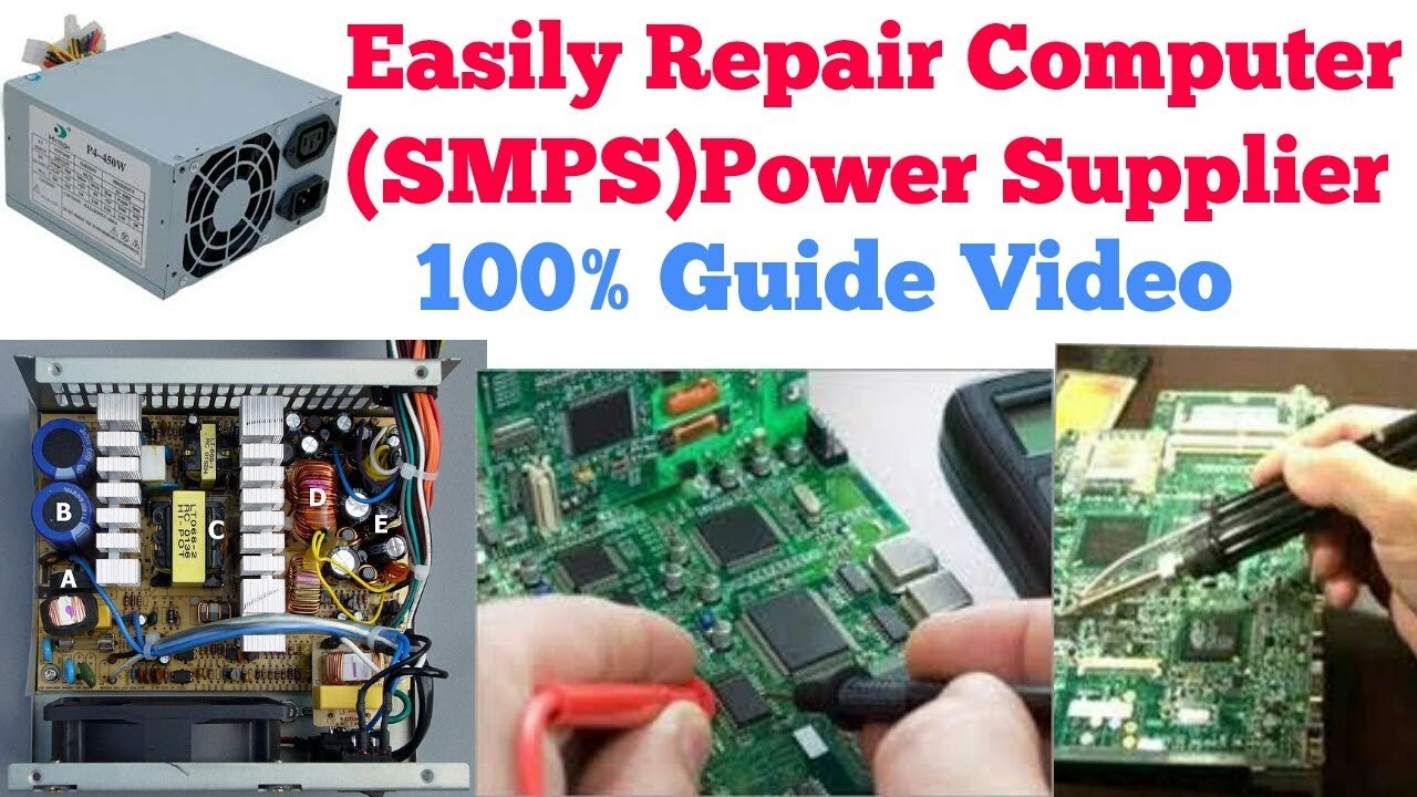 Hindi/Urdu] How to Repair Computer Power supplier (SMPS) | 100 ...
