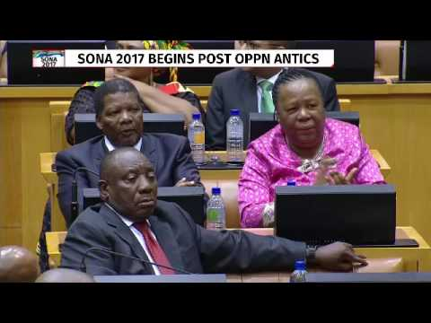 President Zuma presents his State of the Nation Address