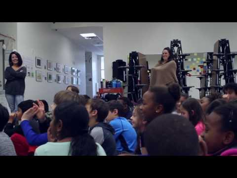 Buddah Strech's visit to The Wide School