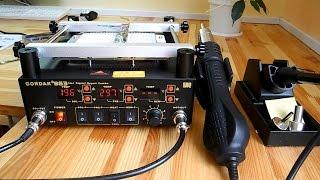 Паяльная станция GORDAK 863 незаменима в ремонте электроники