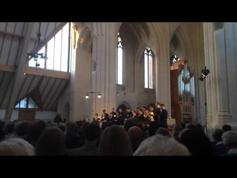 Eric Whitacre Singers — Ubi Caritas, Duruflé — Douai Abbey May 15,2014