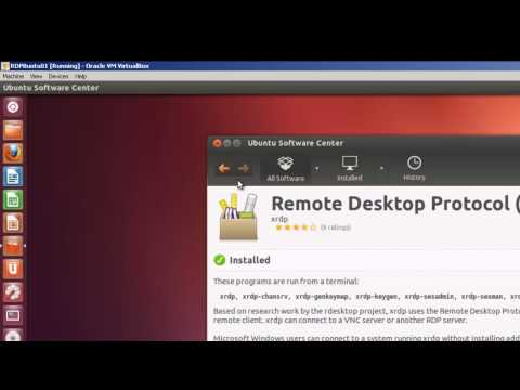 Remote Desktop Connection from Windows 7 to Ubuntu 12 04