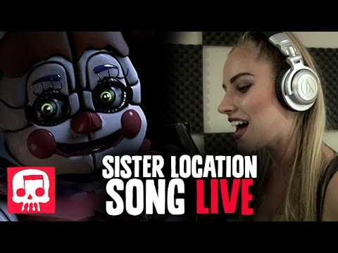 "SISTER LOCATION Song LIVE PERFORMANCE By Andrea S. Kaden - JT Music's ""Join Us For A Bite"""