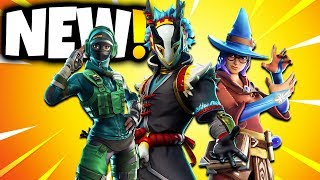 ALL NEW SKINS COMING TO FORTNITE (Fortnite Battle Royale)