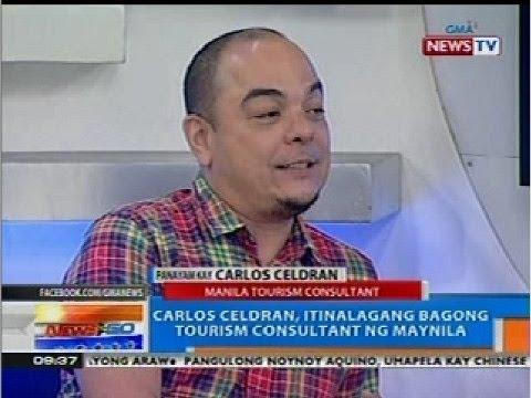 NTG: Carlos Celdran, itinalagang bagong tourism consultant ng Maynila
