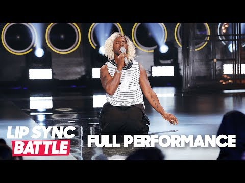 "Christina Aguilera Swoons Over Taye Diggs' ""Beautiful""  Lip Sync Battle"