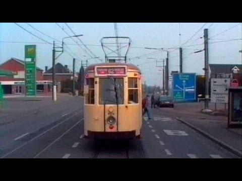 Führerstandsmitfahrten DGEG Straßenbahn und Metro Charleroi 21.03.1993