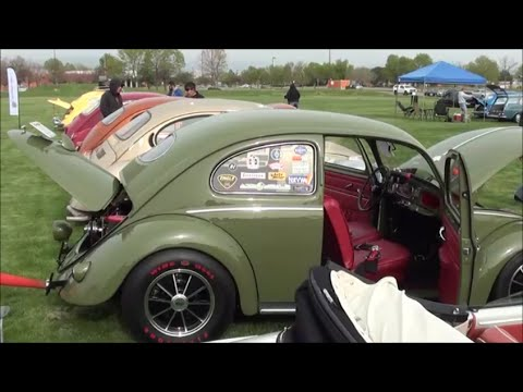 VW's on the green CAR SHOW 2016 colorado volkswagen car show