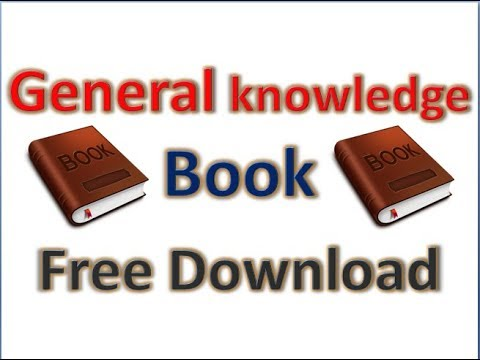 General Knowledge Book 2018   Free Download   Latest
