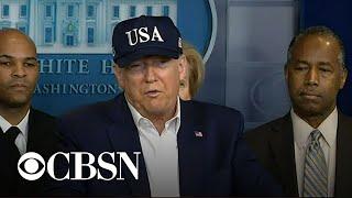 Trump says he took coronavirus test