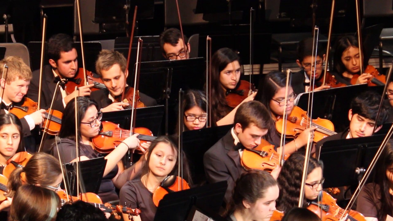 Nicole's Pre-UIL Orchestra Concert 2017 - American Reel by Mosier