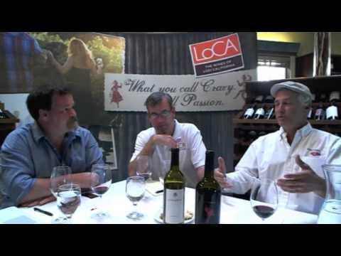 Lodi virtual tasting Stuart Spencer and Tim Hardener
