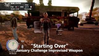 State of Decay January 2016 Challenge done by MonPrinCe.