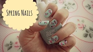 SUPER einfache Spring Nails | xoxoviva Thumbnail