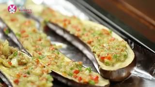 【微体兔菜谱】大红大紫烤茄子丨这蒜香 真是没谁了!