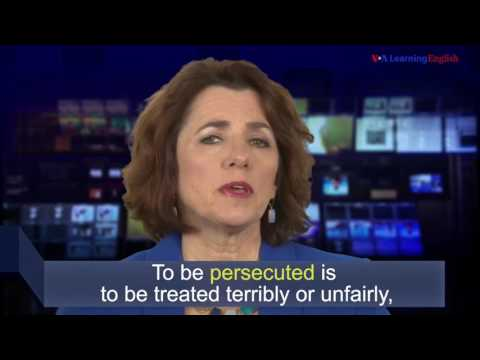 News Words: Persecuted