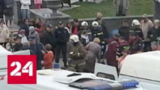 """На детей-участников """"Битвы хоров"""" в Перми обрушились перекрытия сцены"""