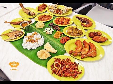Best Restaurant Review Raj S Banana Leaf Rice Bangsar Baru Kuala