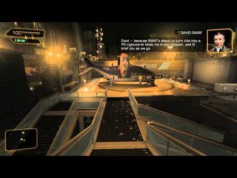 Deus Ex Human Revolution EP2: Six Month Loading Screen