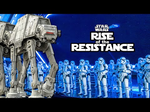 New Star Wars Ride- Rise of the Resistance FULL Ride POV Walt Disney World