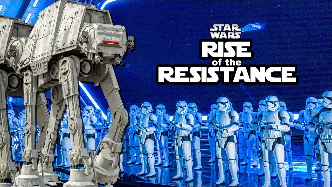 New Star Wars Ride At Disney World Rise Of The Resistance Full Ride Pov Youtube