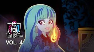 Монстер Хай: Особняк ужасов. Лучшие мультики 4 сезон. Monster High