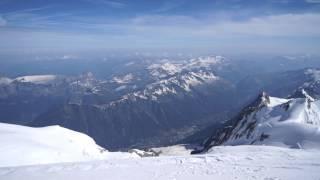 Mont Blanc - 2013 Panorama 360° beautiful full hd