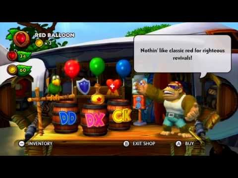 Donkey Kong Country: Tropical Freeze - Funky's Fly 'N' Buy