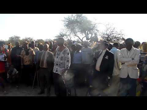 The announcement of Prince Bulelani as the heir to the Ndebele throne