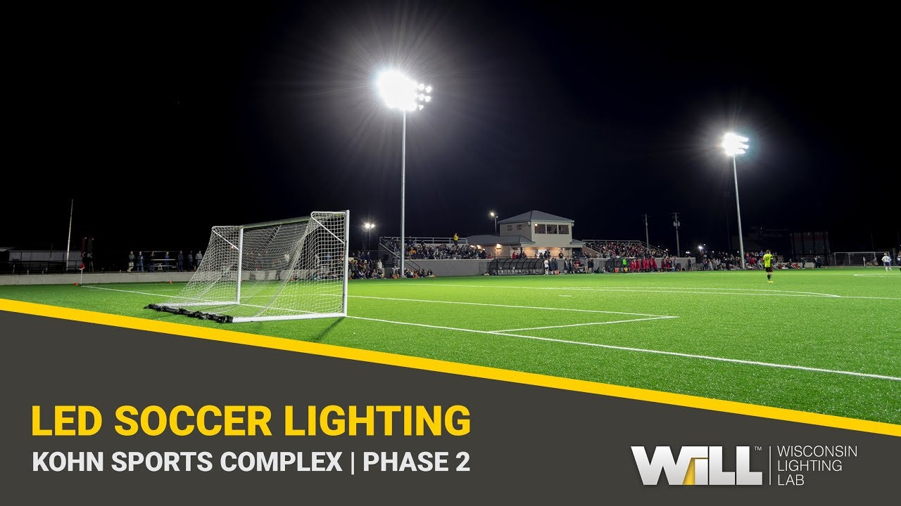michigan high school soccer field lighting kohn sports complex