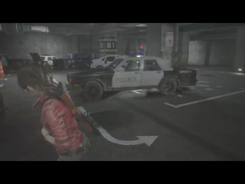 resident evil remake with claire redfield 2nd run part