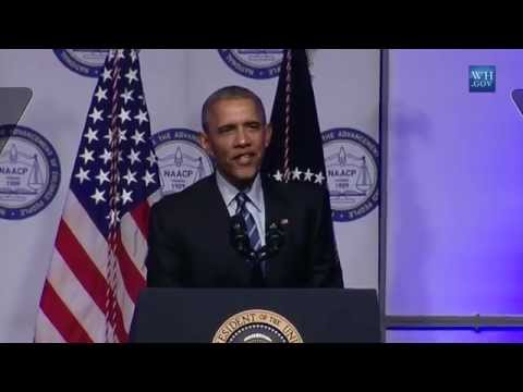 Obama On Race & Criminal Justice- Full Speech To  NAACP