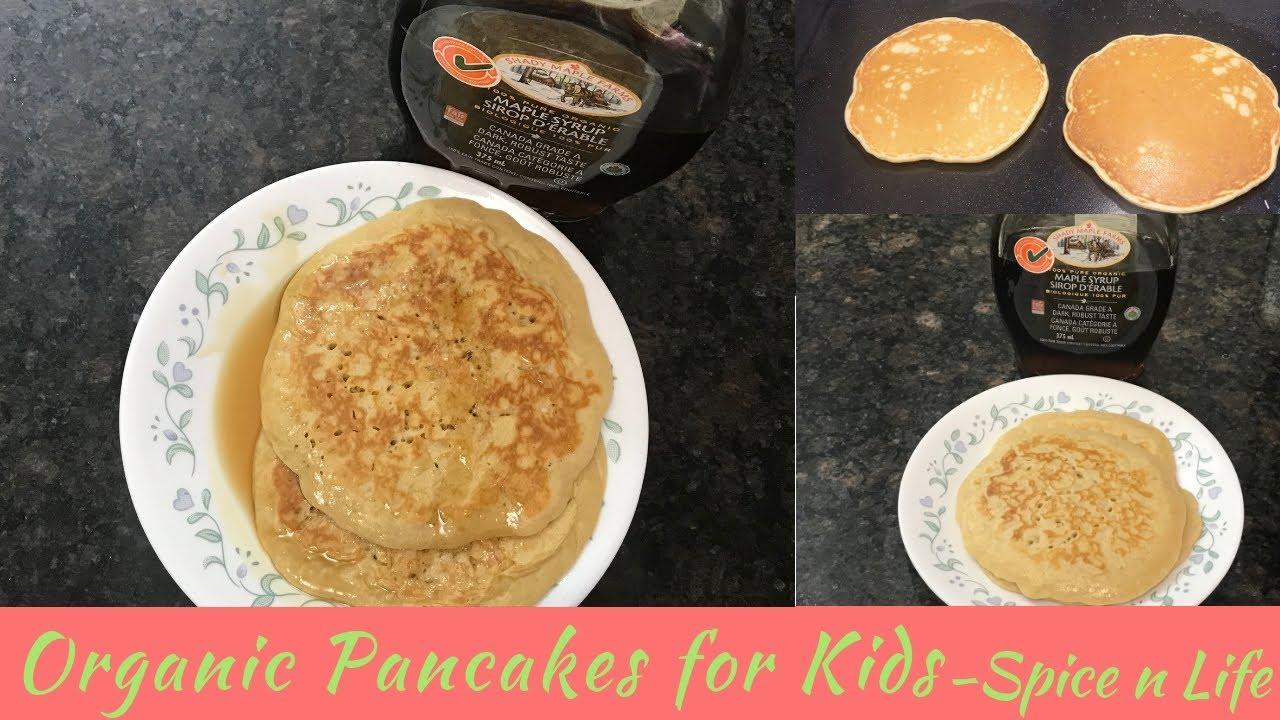 Organic Pancakes for Kids | Tamil