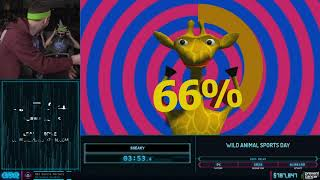 Wild Animal Sports Day by Zic3, Bullets, SNeaky and Scrublord in 7:42 - AGDQ2020