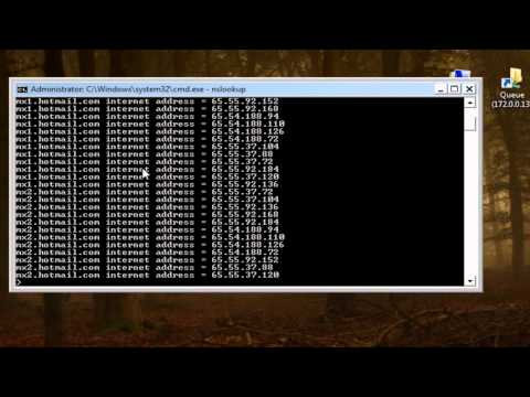 Realizar pruebas Telnet al puerto 25 de SMTP